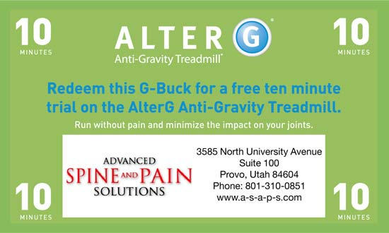 AlterG Coupon