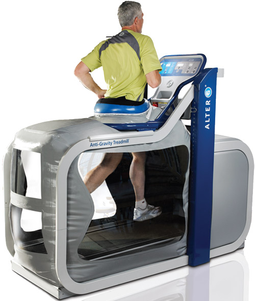AlterG for foot pain
