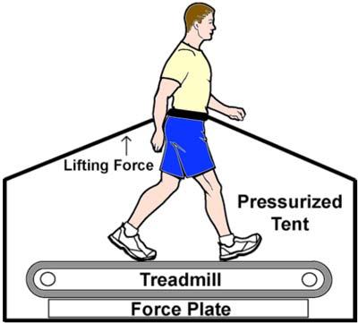 lower-body positive-pressure treadmill