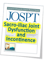 SI Joint incontinence