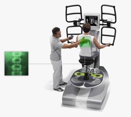 Huber Motion Lab for back pain